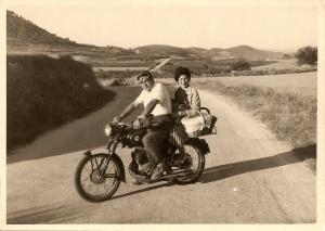 la moto de l'avi